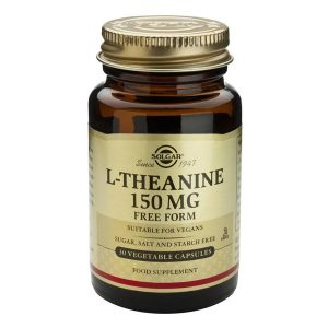 L-Theanine (L-Teanina) 150mg Solgar 30cps