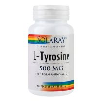 L-Tirozina Secom 500Mg Solaray 50cps