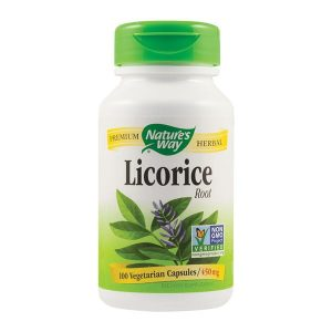 Licorice 450Mg (Lemn dulce) Secom Nature's Way 100cps