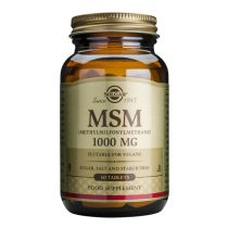 MSM 1000mg Solgar Metilsulfonilmetan 60tb