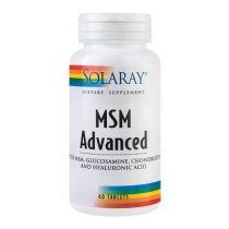 MSM Advanced de la Secom este un remediu si tratament naturist potrivit pentru durerile de oase si articulatii inflamate.