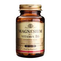 Magneziu cu Vitamina B6 Solgar 100tb