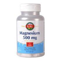Magneziu Secom 500Mg KAL 60cps