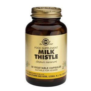 Milk Thistle Herb Extract (Extract din planta de Silimarina) Solgar 50cps