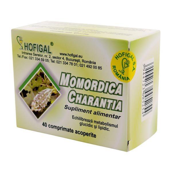 Momordica (Castravete amar) 500mg 40cpr HOFIGAL
