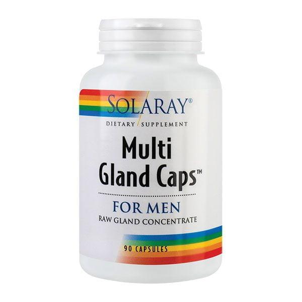 Multi Gland Caps For Men 90cps Solaray SECOM