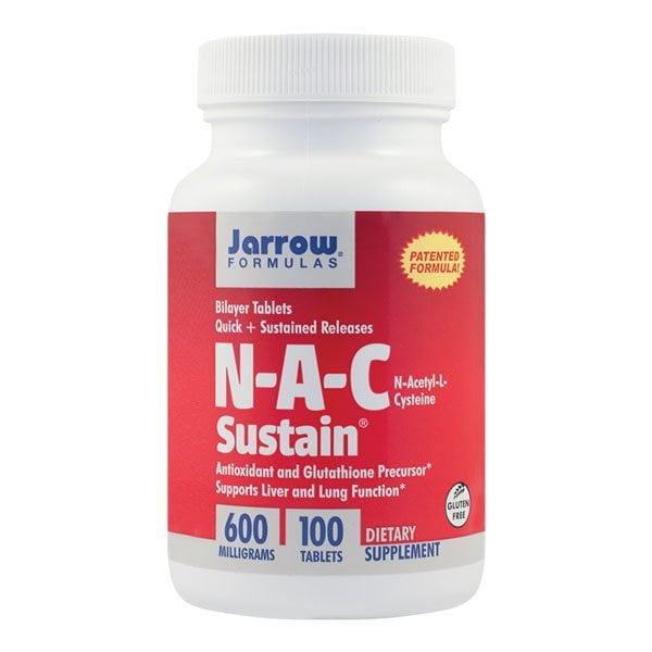 N-A-C Sustain SECOM 100cpr Jarrow Formulas