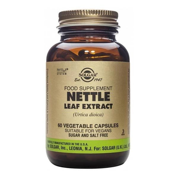 Nettle Leaf (Urzica) Extract Solgar 60cps
