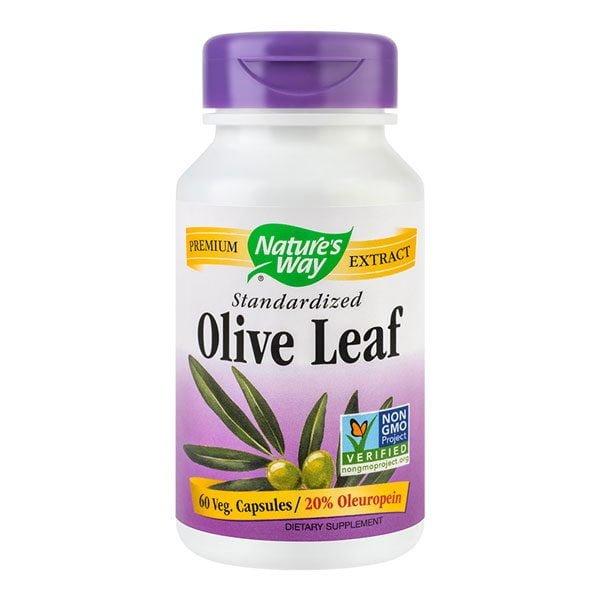Olive Leaf 60cps 20% Oleuropein NATURE'S WAY SECOM
