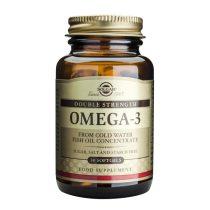 Omega 3 dublu concentrat (Ulei de peste) 700mg Solgar 30cps