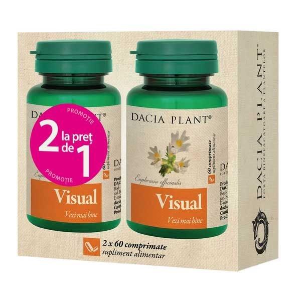 Pachet Visual 60cpr 1+1 Gratis DACIA PLANT