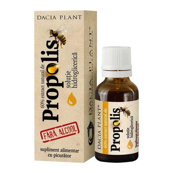 Tinctura Propolis Dacia Plant fara Alcool 20ml