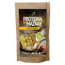 Proteina de Mazare cu Mix de Legume Dacia Plant 200g
