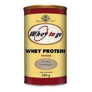 Proteine Whey To Go VANILLA Solgar 340g