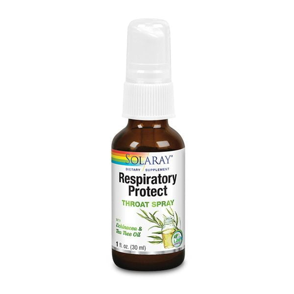Respiratory Protect Throat Spray 30ml Solaray SECOM