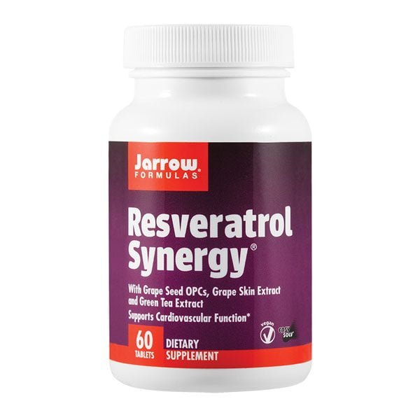 Resveratrol Synergy 20Mg 60cpr Jarrow Formulas SECOM