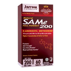 SAM-E 200Mg Secom Jarrow Formulas 60tb