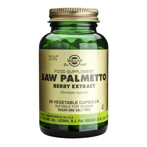 Saw Palmetto Solgar Berry Extract 60cps