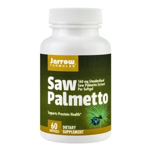 Saw Palmetto (Palmier pitic) 160Mg Secom Jarrow Formulas 60cps
