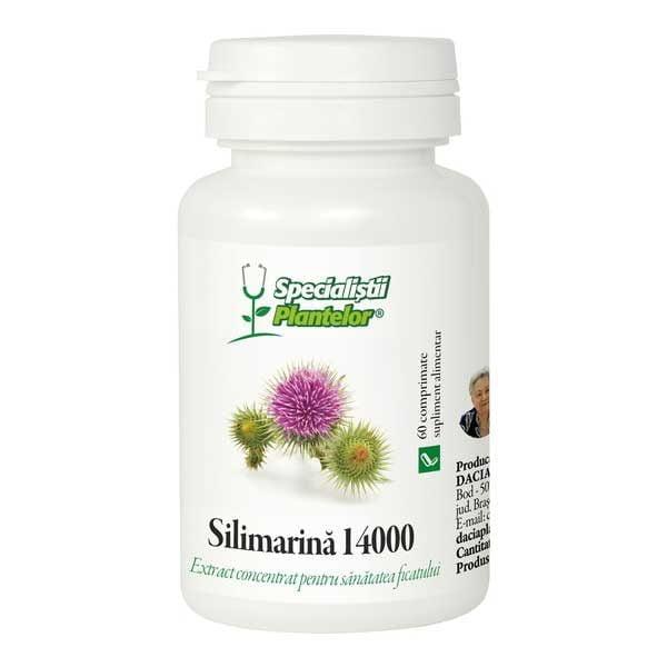 Silimarina 14000 Dacia Plant 60cpr