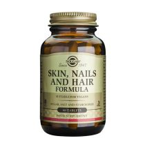 Skin Nails And Hair Formula 60tb (Formula pentru piele, unghii si par) Solgar 60tb