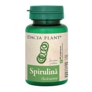 Spirulina Dacia Plant 60cpr