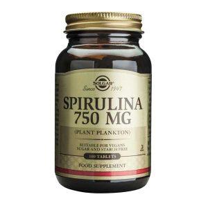 Spirulina Solgar 750mg 100tb