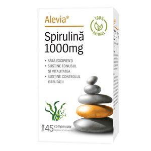 Spirulina Alevia 1000 mg 45cps