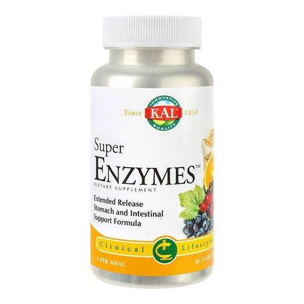 Super Enzymes 30cpr KAL SECOM