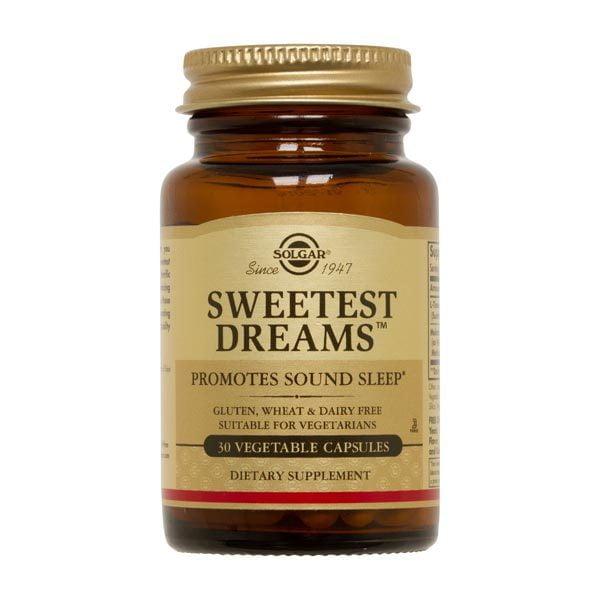 Sweetest Dreams 30cps (L-teanina si melatonina) SOLGAR