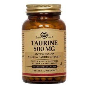 Taurine Taurina Solgar 500mg 50cps