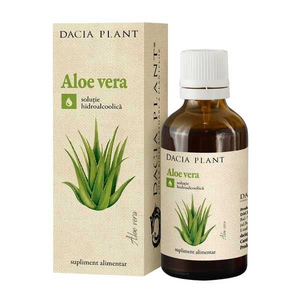 Tinctura de Aloe Vera 50ml DACIA PLANT