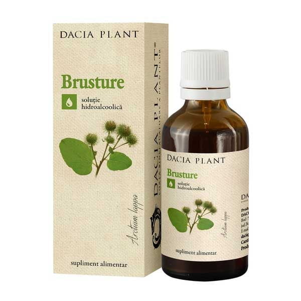 Tinctura de Brusture 50ml DACIA PLANT
