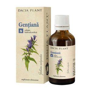 Tinctura de Gentiana Dacia Plant 50ml