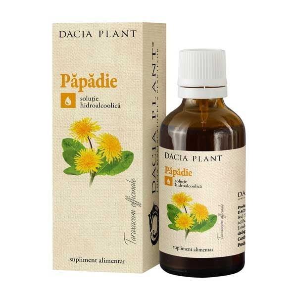 Tinctura de Papadie Dacia Plant 50ml