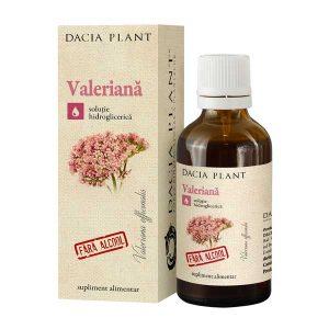 Tinctura de Valeriana Dacia Plant fara Alcool 50ml