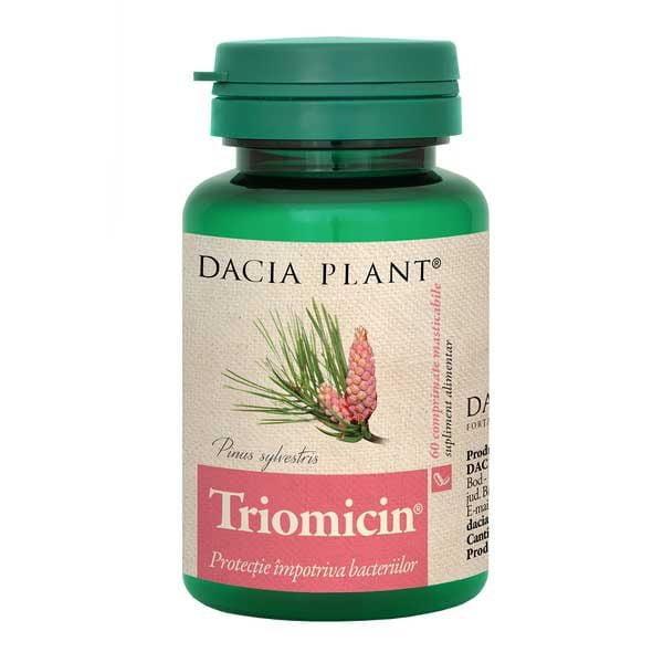 Triomicin 60cpr Masticabile DACIA PLANT