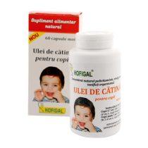 Ulei de Catina pentru Copii Hofigal 60cps