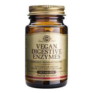 Vegan Digestive Enzymes Solgar 50tb