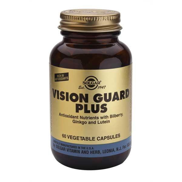 Vision Guard Plus 60cps Vegetale SOLGAR