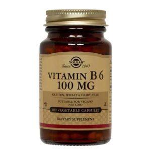 Vitamina B6 Solgar 100mg 100tb