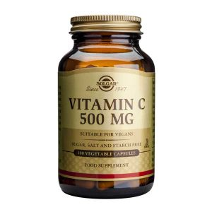 Vitamina C 500mg Solgar 100cps