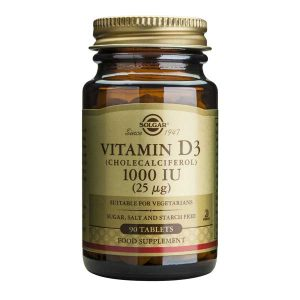 Vitamina D3 1000 iu Solgar 90tb