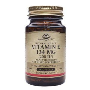 Vitamina E 134 mg Solgar 200 ui 50cps