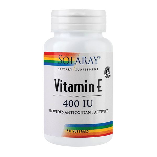 Vitamina E 400UI 50cps SOLARAY SECOM