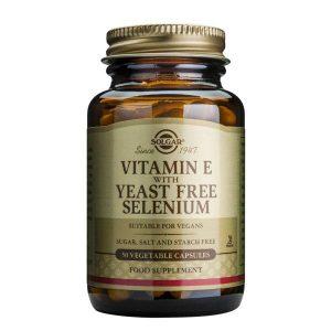 Vitamina E + Selenium Solgar 50cps