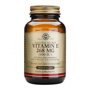 Vitamina E Solgar 268 mg (400 UI) 50cps