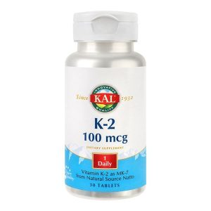 Vitamina K2 Secom 100mcg KAL 30cpr
