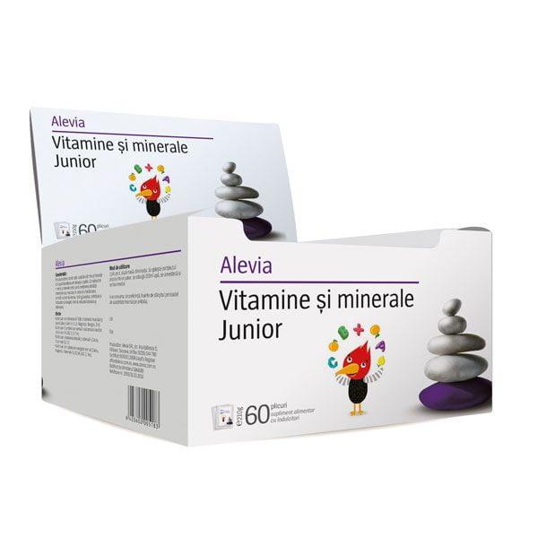 Vitamine si Minerale Junior 60dz Alevia 60dz