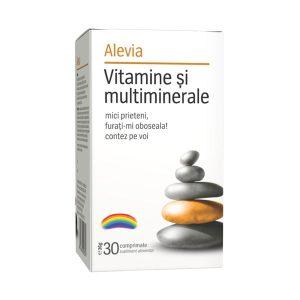 Vitamine si Multiminerale Alevia 30cpr